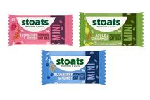 Stoats Apple & Cinnamon Mini Porridge Oat Bar 25g (Scotland Only)