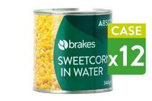Brakes Sweetcorn in water