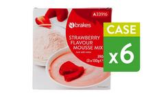 Brakes Strawberry Flavour Mousse Mix
