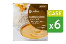 Brakes Butterscotch Flavour Mousse Mix