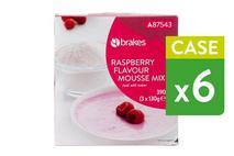 Brakes Raspberry Flavour Mousse Mix