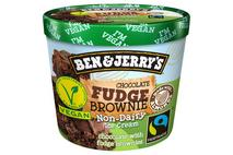 Ben & Jerry's Non Dairy Chocolate Fudge Brownie Ice Cream Mini Cup 100ml