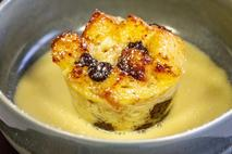 Didiers Dark & White chocolate bread & butter pudding