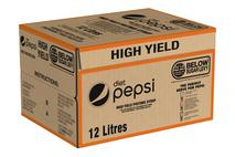 Pepsi Diet High Yield Postmix Syrup 12 Litres