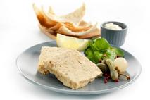 Castle MacLellan Mackerel Pate with Pink Peppercorns Portion