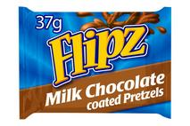 Flipz Milk Chocolate Covered Pretzels 37g