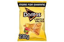 Doritos Lightly Salted Tort Chips