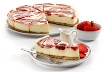 Brakes Strawberry Swirl Cheesecake