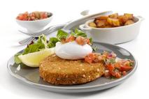 M&J Seafood Smoked Haddock, Smoked Coley & Apple Wood Smoked Cheddar Cheese Fish Cakes