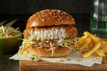 Youngs MSC Fish Fillet 1/4lb Burger