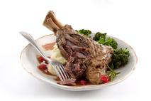 Slow Cooked Lamb Foreshank