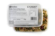 Brakes Nutty Farro & Kale Salad