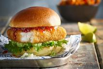 Whitby Seafoods Southern Fried MSC Pollock Burgers