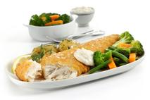 M&J Seafood Gluten-Free Battered MSC Atlantic Cod Fillet