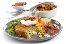 M&J Seafood Gluten-Free Smoked MSC Haddock, Mozzarella & Rocket Fishcakes