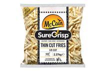McCain Surecrisp Skin Off Thin Fries
