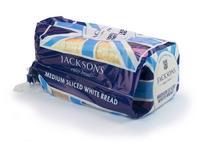 Jacksons Medium Sliced White Bread