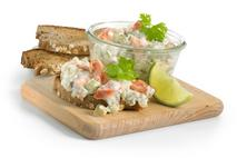 Brakes Hot Smoked Salmon & Cucumber Savoury Filling