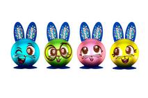 Smarties Bunny Hollow Figure