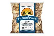 McCain Menu Signature 5% Fat Skin On Wedges