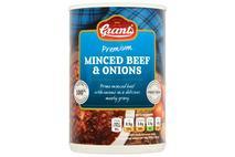 Grant's Premium Minced Beef & Onions 392g