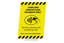 A5 Card & Contactless Payment Only