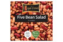 Royal Crown Five Bean Salad in Water