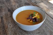 Little & Cull Carrot Red Lentil and Coriander Soup