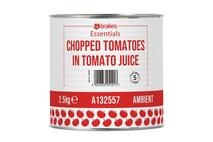 Brakes Essentials Chopped Tomatoes in Tomato Juice