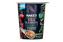 Naked Korean BBQ Ramen Vegetable Pot