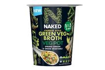 Naked Chinese Green Vegetable Broth Pot