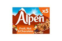 Alpen Cereal Bar Fruit & Nut & Chocolate