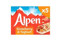 Alpen Cereal Bar Strawberry & Yogurt