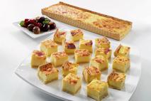 Brakes Essentials Fully Baked Four Cheese Quiche Slab