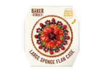 Baker Street Sponge Flan Cases