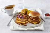 Meatless Farm Plant-Based Chicken Burger