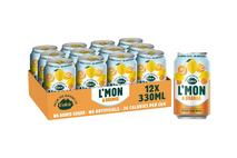 L'mon & Orange Sparkling Citrus Drink 330ml