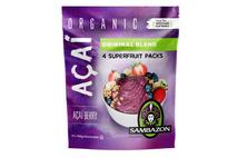 Sambazon Organic Orig Acai Berry  4x100g