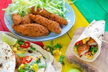 Levi Roots Caribbean BBQ Breaded Chicken Goujons 35g