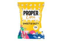 Propercorn Sweet & Salty Popcorn   8x90g