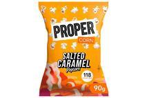 Propercorn Salted Caramel Popcorn  8x90g