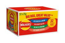 Walker Variety Box NOT FOR RESALE 32x25g