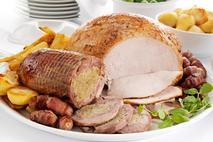 McKeown Mastercarve Cooked Gourmet Roast Turkey Breast & Stuffed Thighs