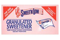 Sweet'n Low Granulated Sweetener 1000 Sachet Portions