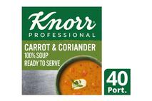 Knorr Professional 100% Soup Carrot&Coriander4x2.4L
