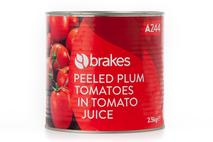 Brakes Peeled Plum Tomatoes in Tomato Juice