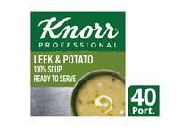 Knorr Professional 100% Soup Leek & Potato 2.5kg