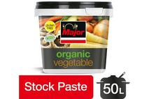 Major Organic Vegetable Stock Base Concentrated Paste 1kg