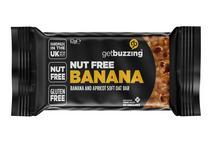 getbuzzing Banana Nut Free Flapjack