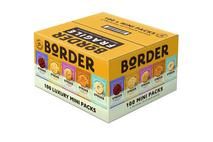 Border 100 Luxury Mini Packs 5 Varieties
